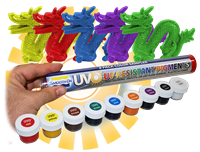 UVO Colorants for Urethane rubbers, plastic and foams